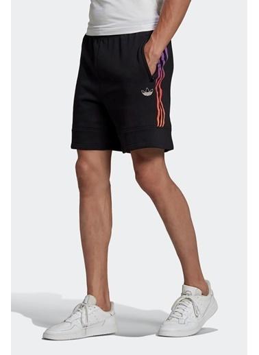 adidas Adidas Erkek Günlük Şort Sprt Swetshrts Gn2435 Siyah